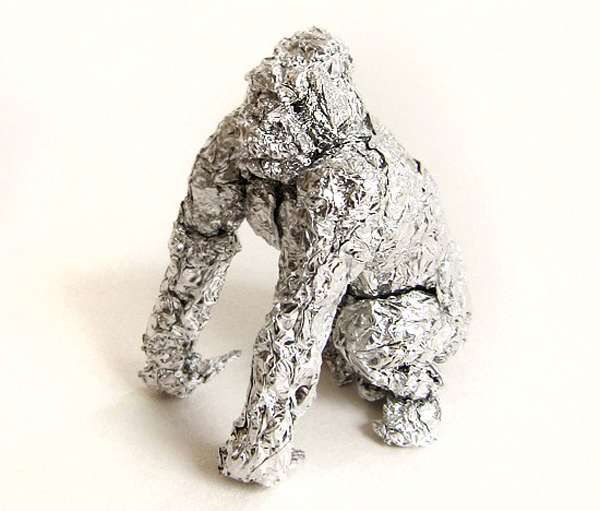 Monstrous Foil Sculptures