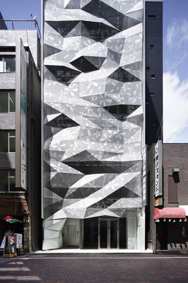 Perforated Floral Facades