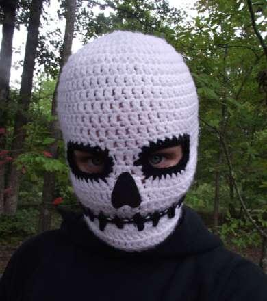 Sinister Skull-Face Warmers