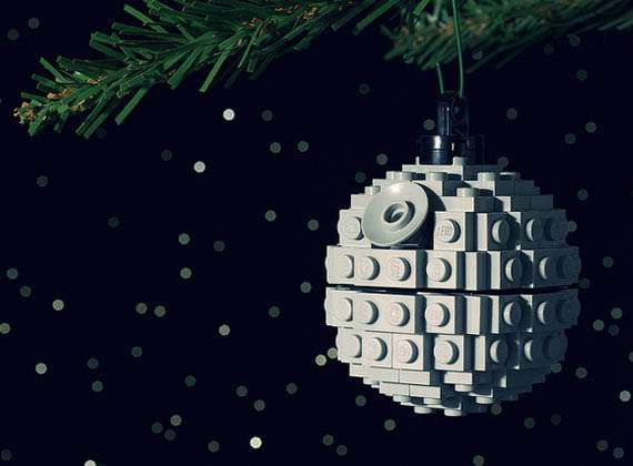 DIY Sci-Fi Christmas Decorations