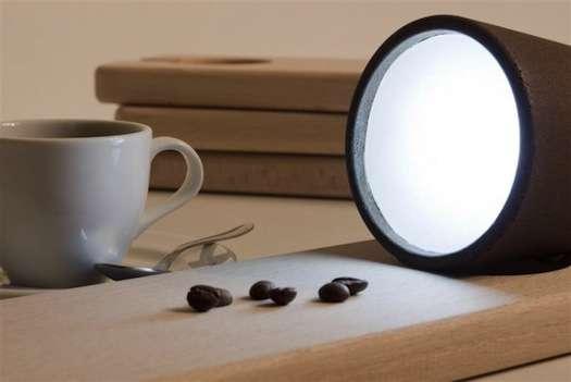 Coffee Ground-Inspired Lighting