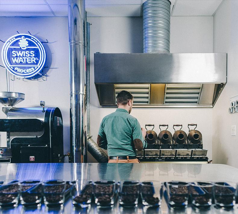Decaf Coffee Pop-Ups
