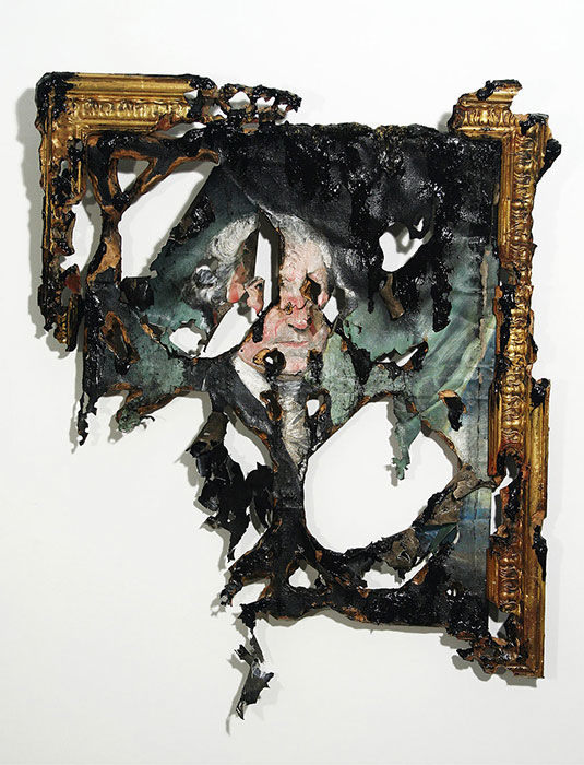 Intentionally Decayed Art