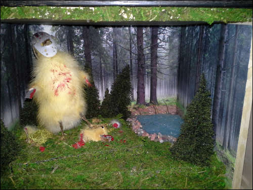 Taxidermy Critter Displays