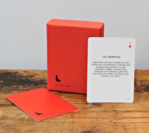 Espionage Training Cards