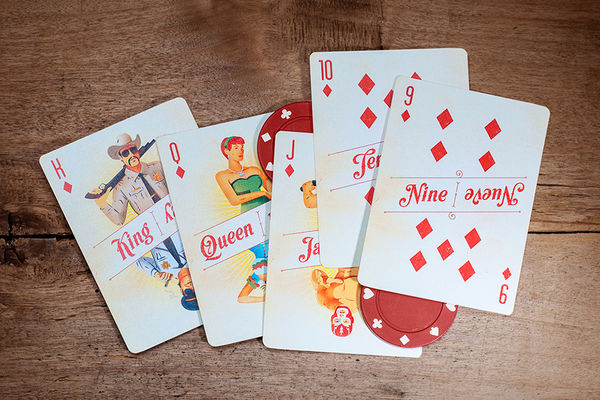 Vibrant Cultural Playing Cards