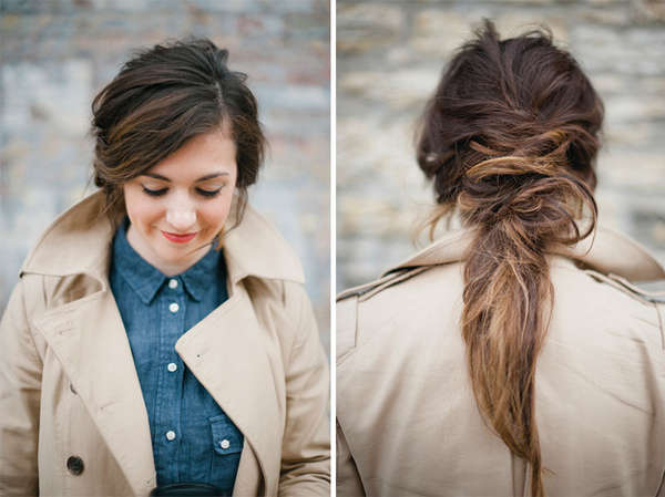 Messy DIY Hair Tutorials