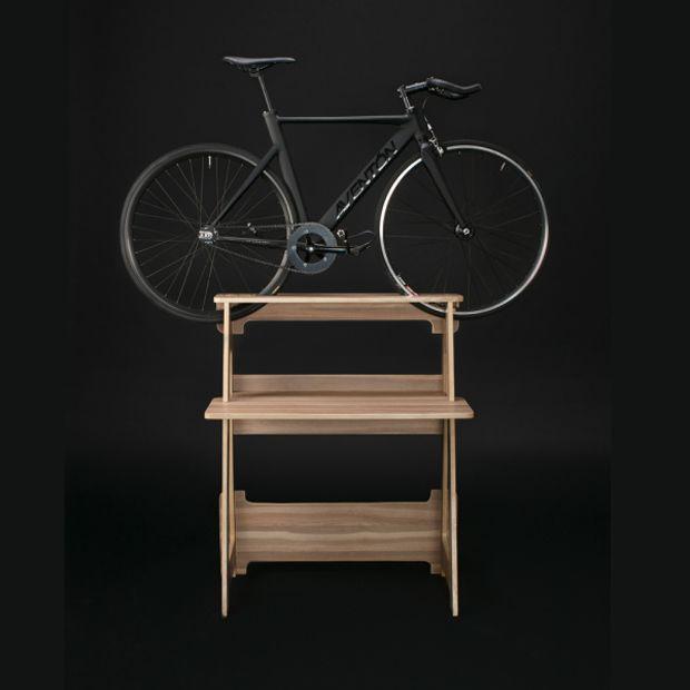 Stylish Bike-Storing Furniture