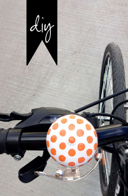 DIY Decorated Bike Bells