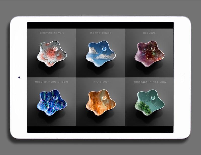 Digital Artwork Furniture
