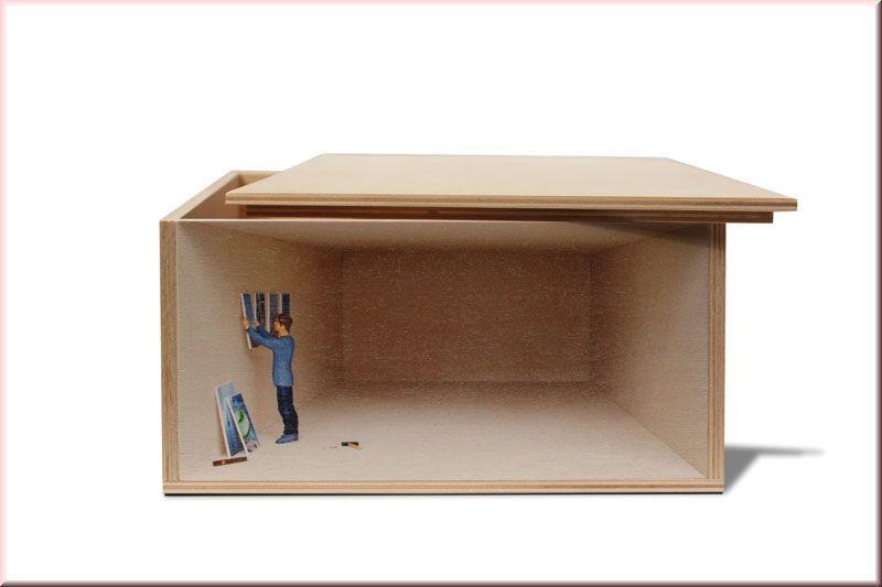 Illusory Storage Boxes