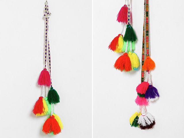 Peruvian Decorative Tassels