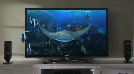 Underwater 3D Televisions