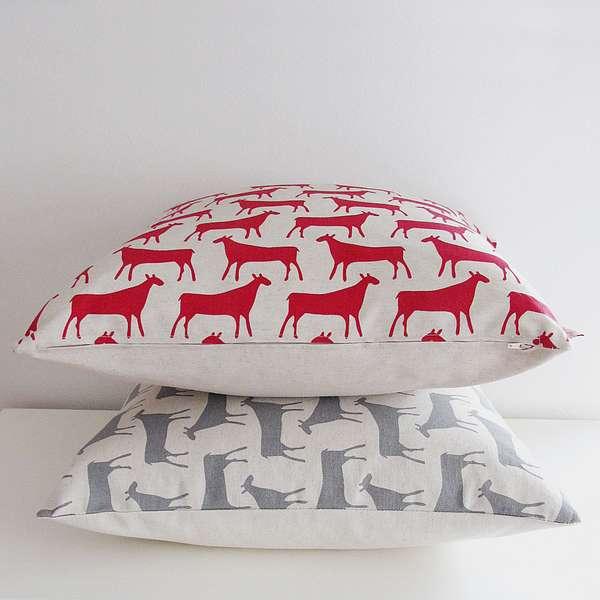 Cow-Print Cushions