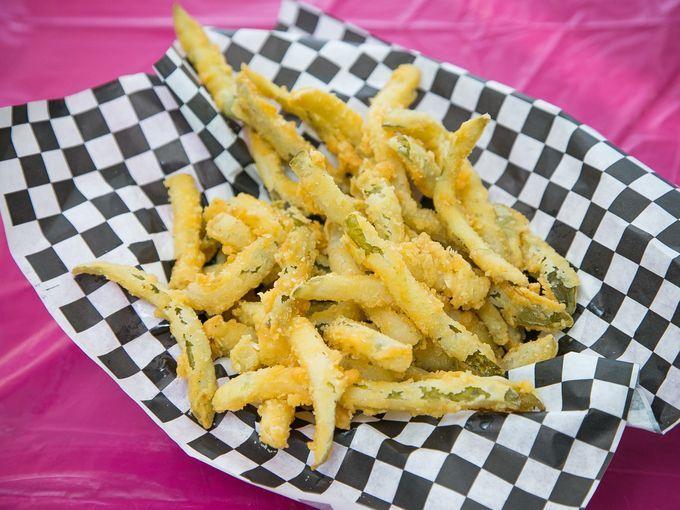 Artisanal Pickle Fries