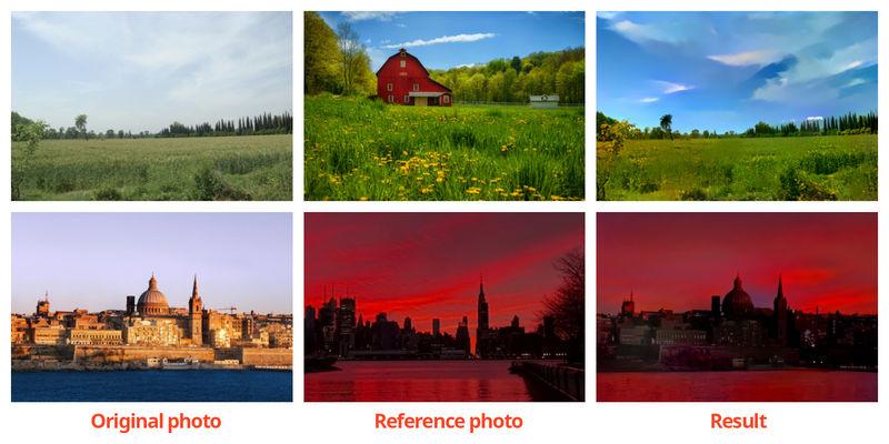Stylistic Photography Algorithms
