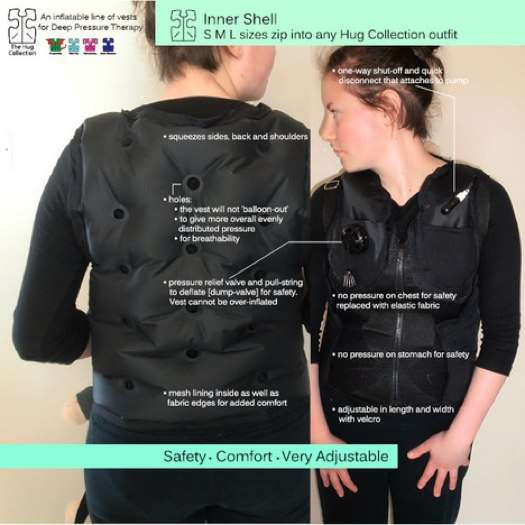 Sensory-Stimulating Jackets