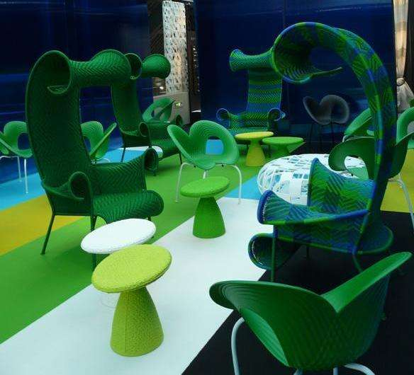 Seaweed Seating Ocean Inspired Moroso Furniture