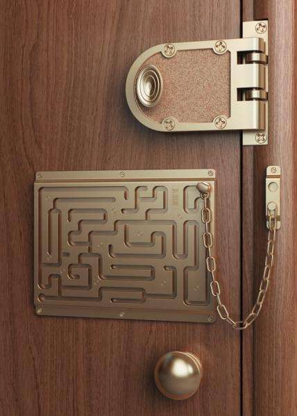 Maze Door Chains