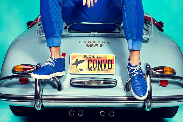 Sports Car Sneaker Lookbooks