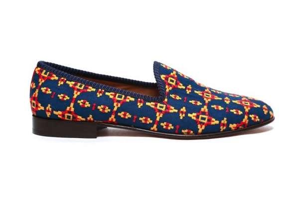 Snug Aztec Slip-Ons