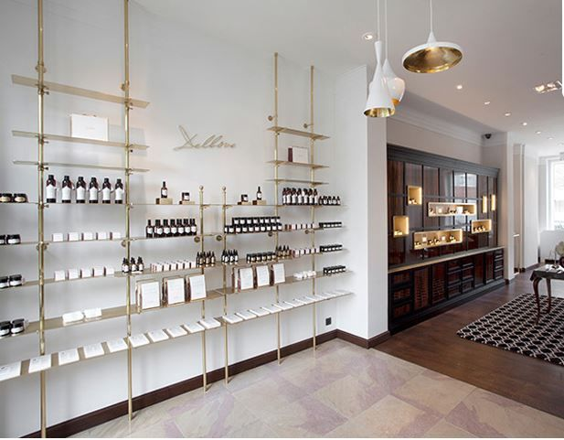 Apothecary Style Beauty Flagships Delbove Flagship Boutique