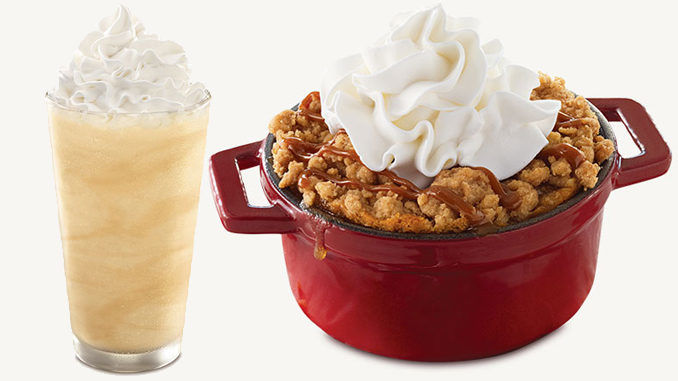 Fast Food Apple Crumbles