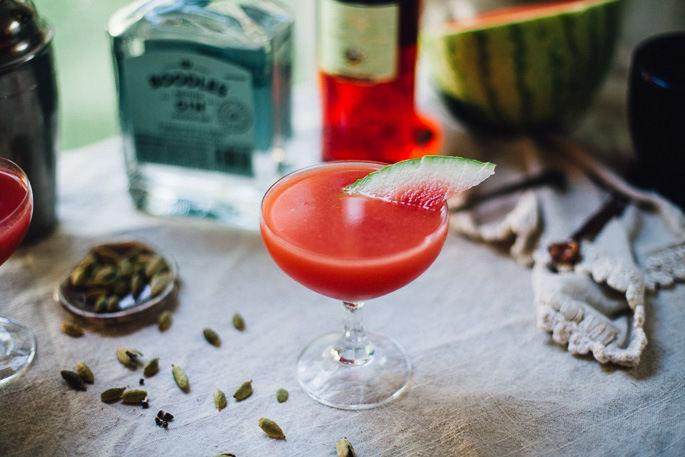Watermelon Gin Cocktails