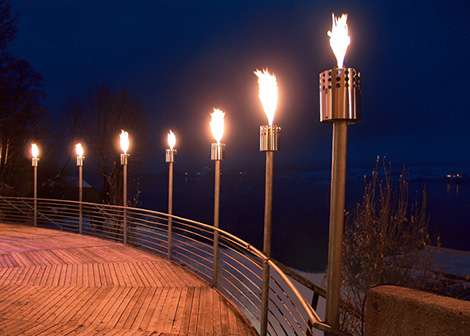 Chic Tiki Torches
