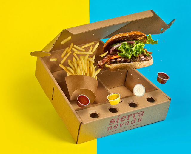 Burger Delivery Boxes