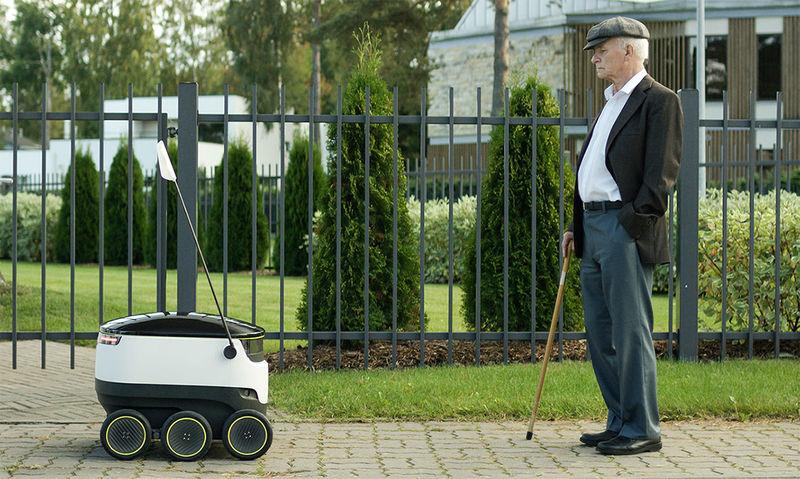 Autonomous Delivery Rovers