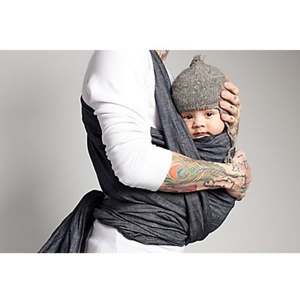 denim baby carriers
