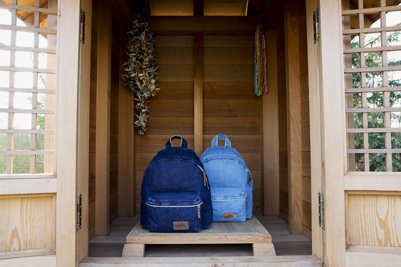 Luxury Denim Backpacks