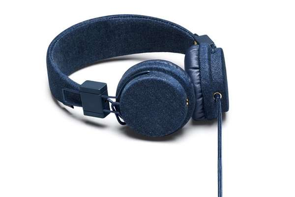 denim headphones