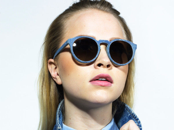 Upcycled Denim Sunglasses