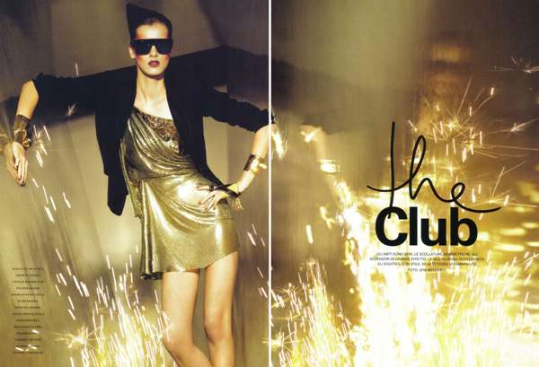Party Fashion Editorials