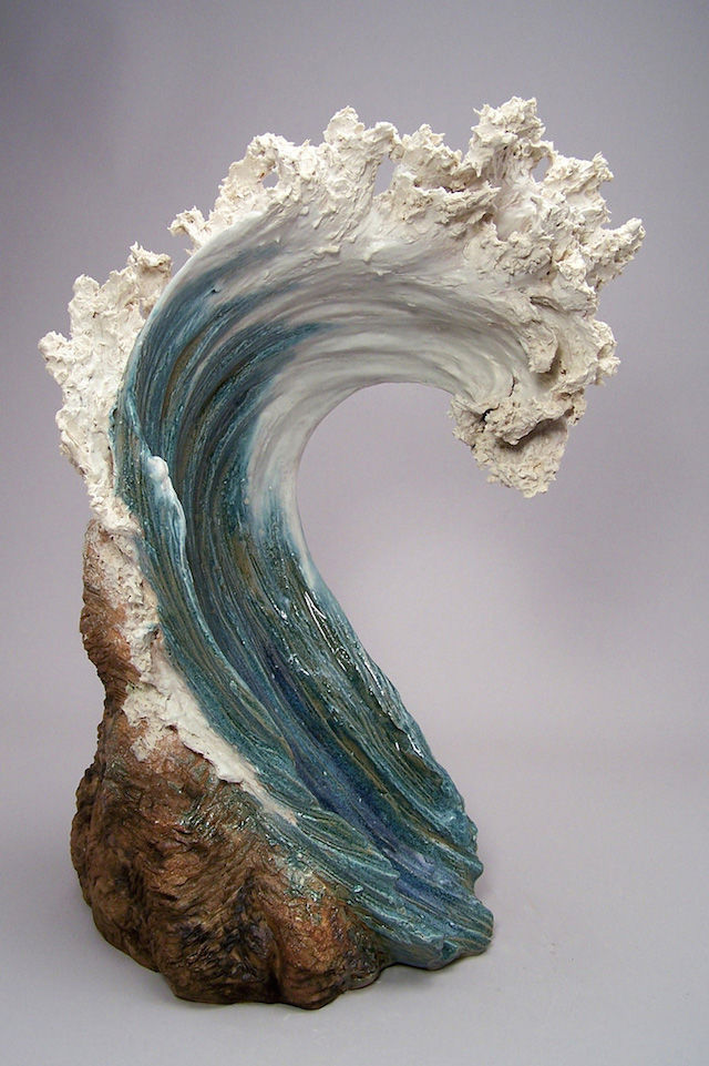 Ocean-Inspired Ceramic Sculptures
