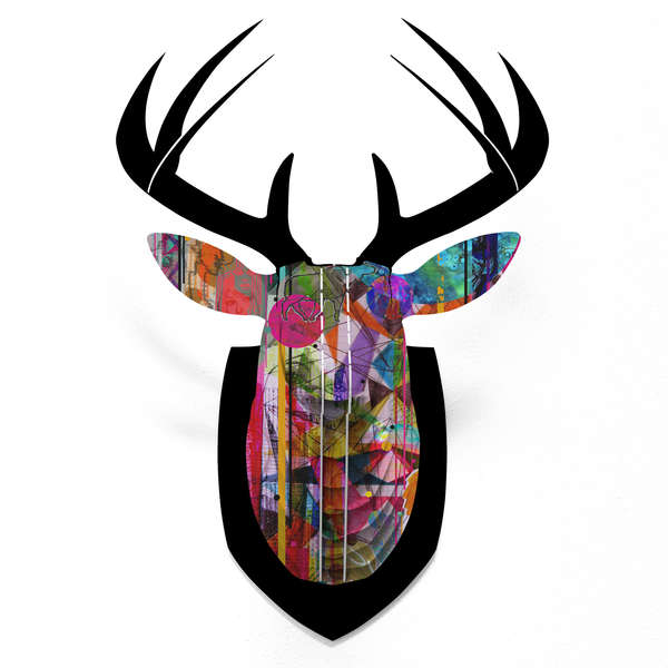 DENY Designs Faux Deer Mount