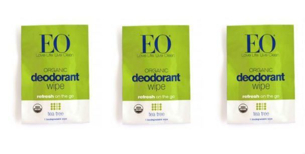 Portable Deodorant Wipes