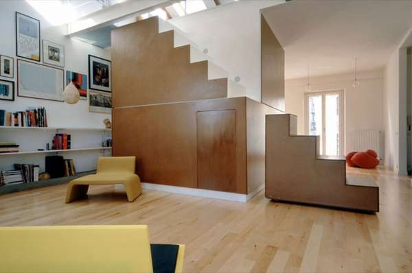 Centralized Staircase Lofts