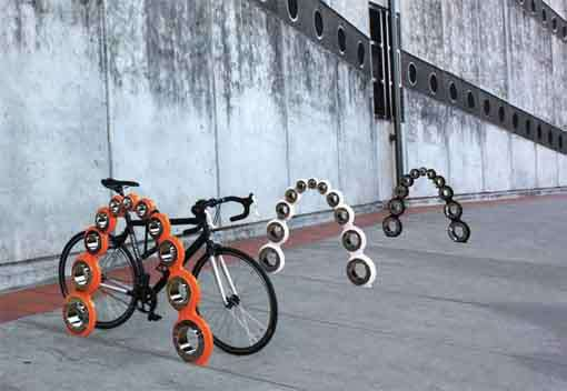 Ball-Bearing Bike Racks