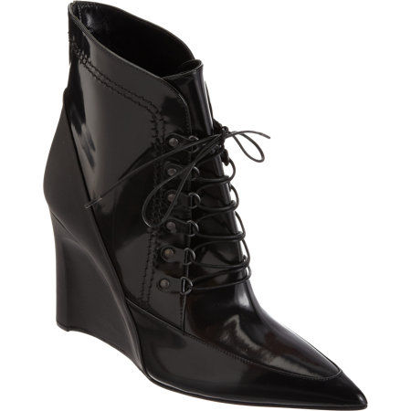 Versatile Lace-Up Vixen Wedges