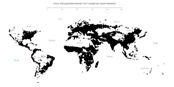 Packed Population Maps
