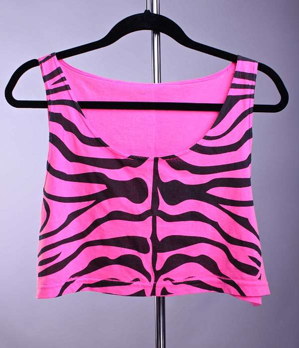 Exotic Animal Crop Tops