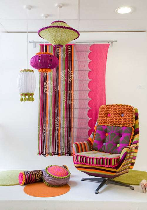Vibrantly Retro Furniture
