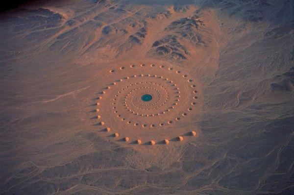 Stunning Geometrical Desert Art