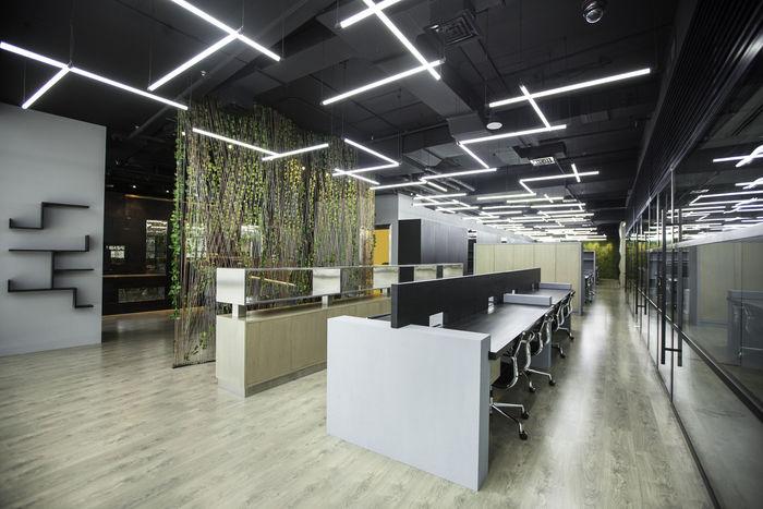 Geometric Office Interiors