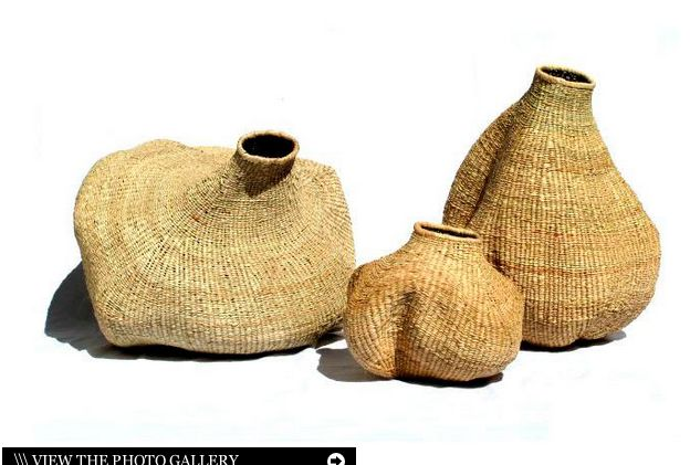 Gourd-Shaped Baskets