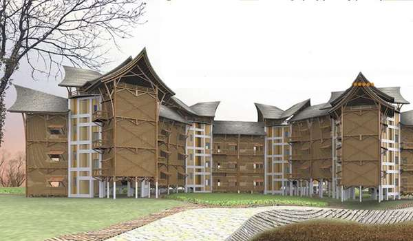 Disaster-Proof Bamboo Housing