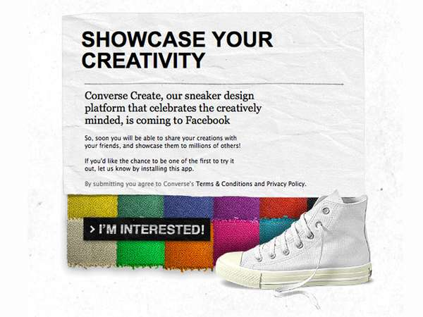 Design and sell Converse